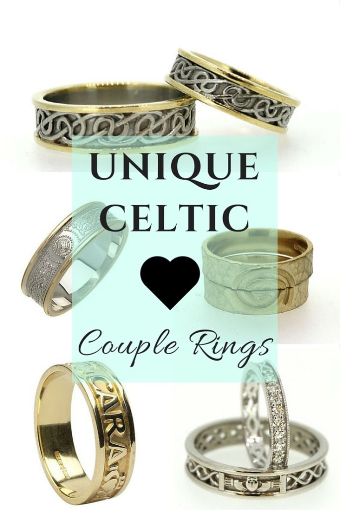 Stunning selection of unique Celtic couple rings
