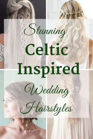 Stunning Celtic Inspired Wedding Hairstyles