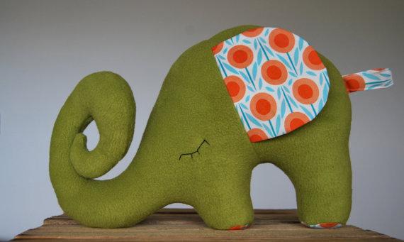 Unique Baby Gift Ideas Ireland : Elephant pillow soft toy gorgeous irish made gifts