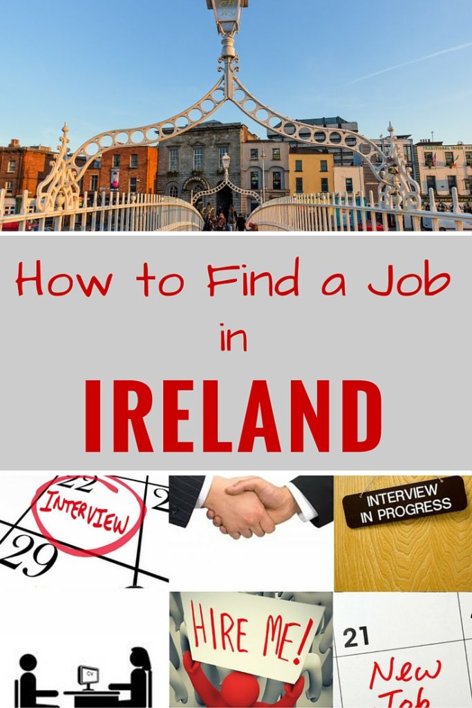 How to Find a Job in Ireland | RELOCATING TO IRELAND