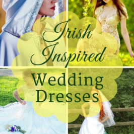 Irish Inspired Wedding Dresses