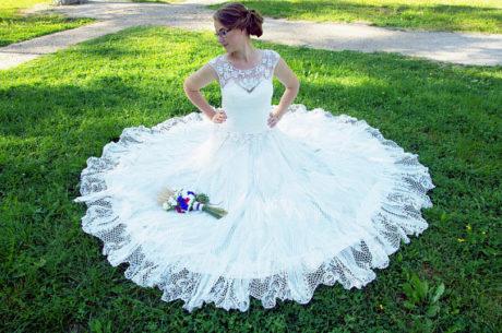 Irish Lace Wedding Gowns