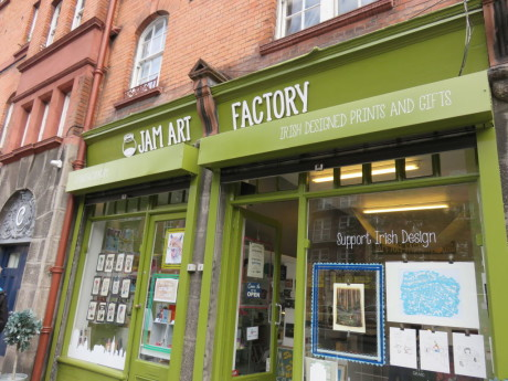 Jam Art Factory. Discover the best places to shop in Dublin, Ireland.