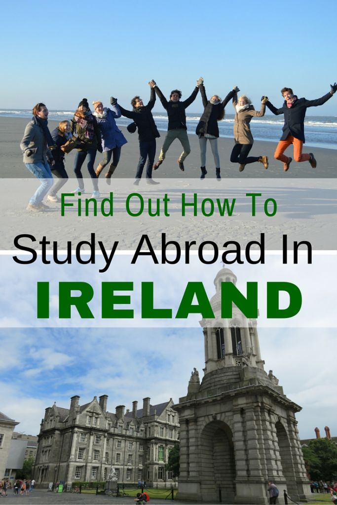 Find out how to study abroad in Ireland