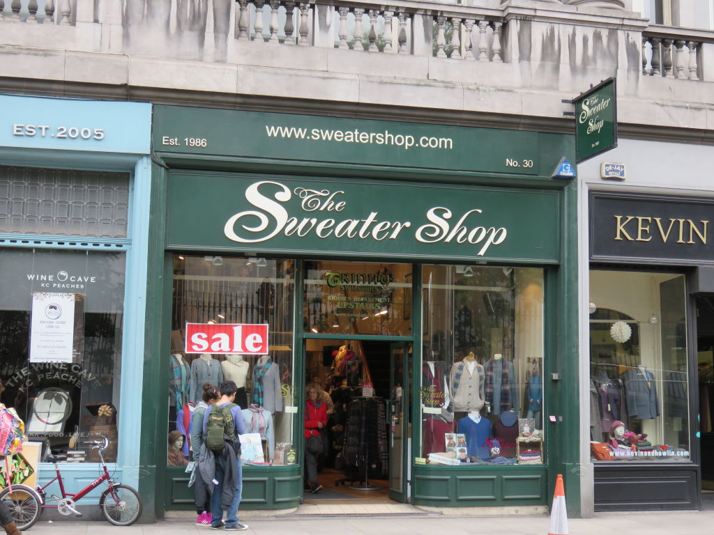 The Sweater Shop. Discover the best places to shop in Dublin ...