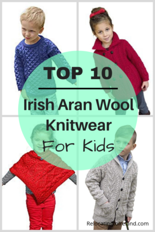 51b8f802e6 Irish Aran Wool Knitwear for Kids | RELOCATING TO IRELAND